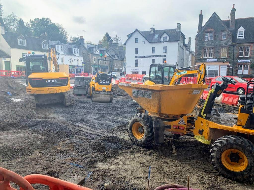 Hireline Plant Hire Edinburgh Scotland