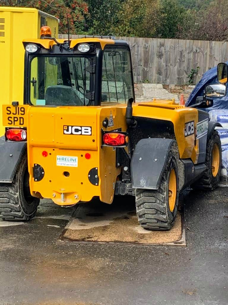 Hireline telehandler hire Edinburgh Scotland